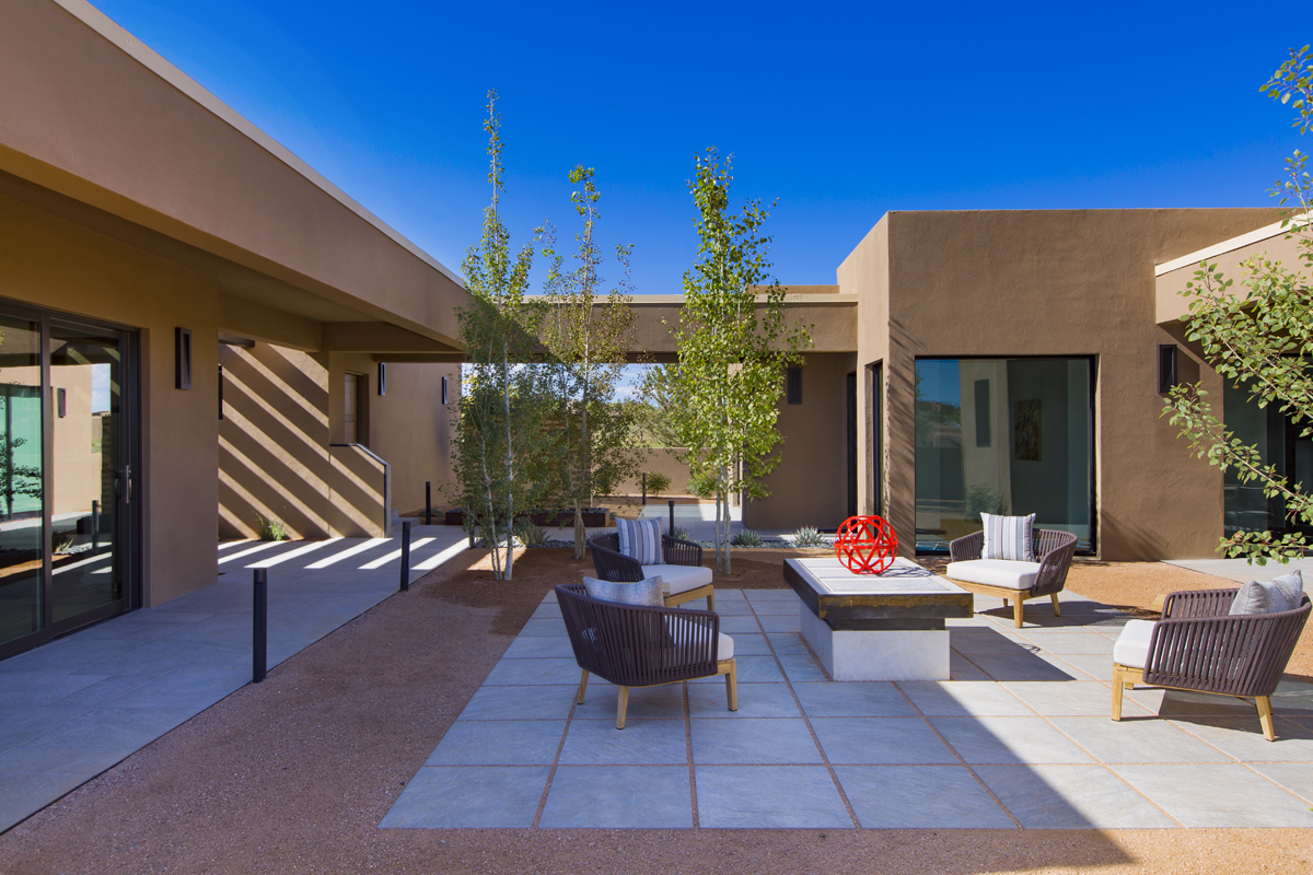 Santa Fe modern homes in New Mexico