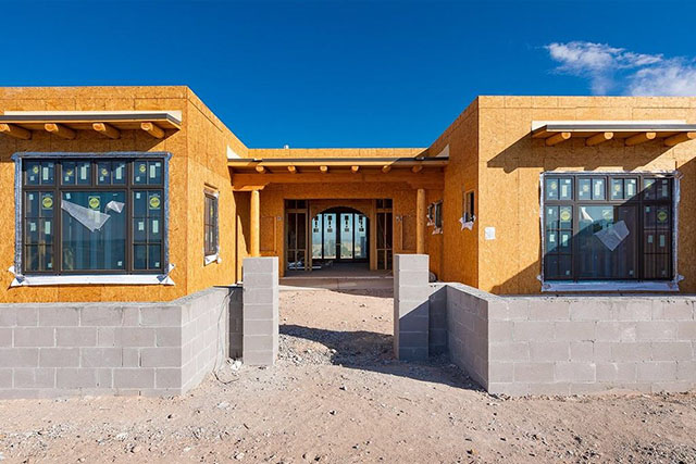 unfinished homes in Santa Fe, NM