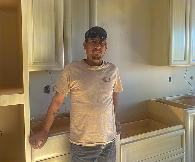 Handy man in Santa Fe, NM Carlos Siglia construction specialist.
