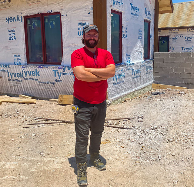 Kyle Novellio project manager of million dollar listings in Santa Fe, NM